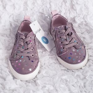 🆕️ Baby Girl Multicolored Star Sneakers Size 6